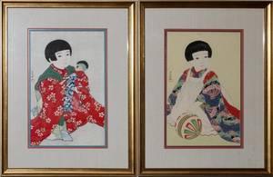 JAPANESE PRINTS PAIR