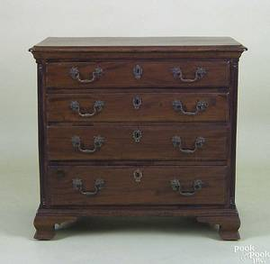 Pennsylvania Chippendale mahogany diminutive chest of drawers ca 1770
