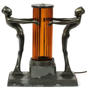 FRANKART NO L246 ART DECO TABLE LAMP C1930