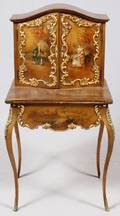 FRENCH VERNIS MARTIN STYLE LADYS WRITING DESK