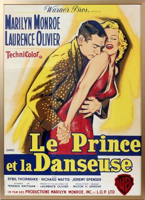 MARILYN MONROE FRENCH MOVIE POSTER 1959