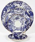ROYAL CROWN DERBY MIKADO PORCELAIN DINNER WARE