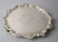 George II silver salver 1752