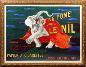 LEONETTO CAPPIELLO FRENCH 18751942 COLOR LITHOGRAPH