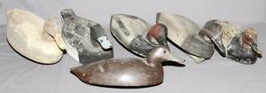 HAND CARVED DUCK DECOYS 5