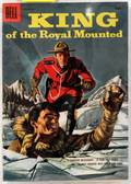 1956 DELL COMIC 10C KING OF THE ROYAL MOUNTED