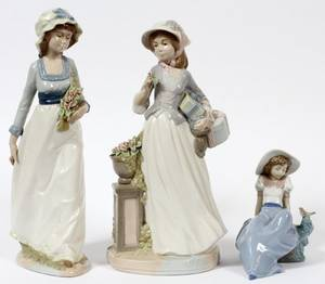 NAO BY LLADRO  NADAL PORCELAIN FIGURES THREE