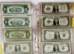 1SILVER CERTIFICATE  FED RESERVE NOTES 1928