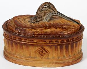 FRENCH PORCELAIN OVAL BOX