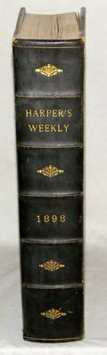 HARPERS WEEKLY 1898 VOL XLII SPANISHAMERICAN WAR