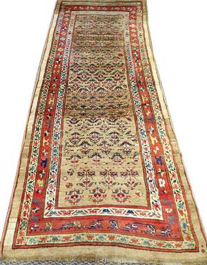 NORTHWEST PERSIAN HAND WOVEN WOOL RUNNER