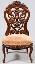 ATTRIB TO BELTER VICTORIAN SIDE CHAIR C 1850