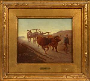 FREDERIC REMINGTON ORIGINAL OIL ON CANVAS