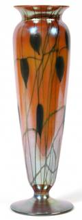 DURAND IRIDESCENT ART GLASS VASE EARLY 20TH C