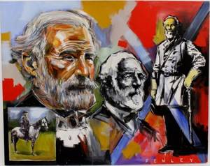 Steve Penley Robert E Lee Painting