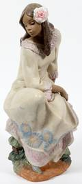 LLADRO GRES FIGURE SPRING INSPIRATION