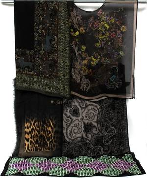 GIVENCHY  ETRO SILK  WOOL SCARVES AND TUNIC
