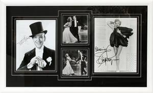 Realized price for FRED ASTAIRE &GINGER ROGERS AUTOGRAPHED