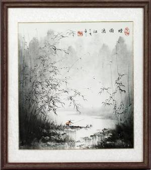 CHINESE ORIGINAL INK ON RICE PAPER