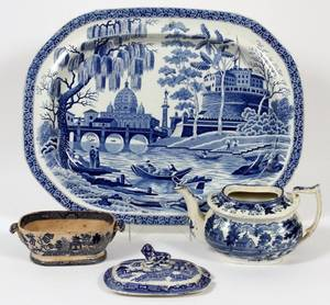 STAFFORDSHIRE PLATTER BY STUBBS