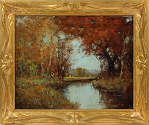 GEORGE THOMPSON PRICHARD OIL ON CANVAS