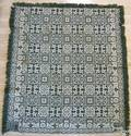 Pennsylvania coverlet dated 1844 and inscribed Henry Keever Womelsdorf