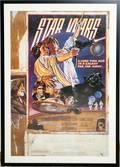 100238 STAR WARS CASTSIGNED MOVIE POSTER 38x25