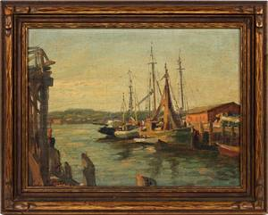 CHARLES WALTENSPERGER OIL ON CANVAS