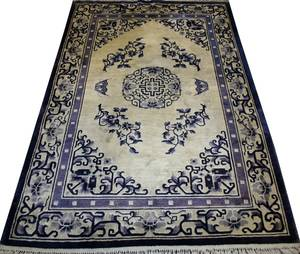 021309 CHINESE PURE SILK RUG 6 0 X 4 0