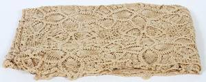 ANTIQUE LACE TABLECLOTH C1900