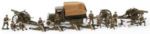W BRITAIN LEAD TOY SOLDIERS C1920 26 PCS