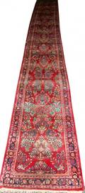 SAROUK PERSIAN RUNNER C 1920