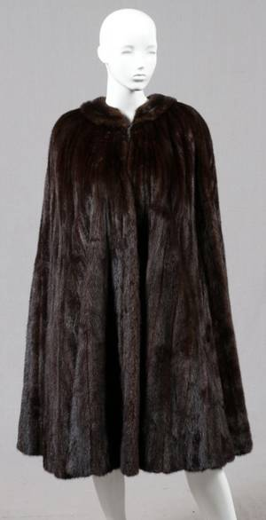 MINK FUR CAPE FOR BONWIT TELLER