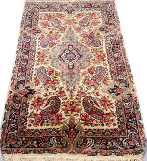 KERMAN HAND WOVEN ALL WOOL PERSIAN RUG