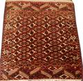 TEKKE TURKOMAN WOOL RUG C EARLY 20TH C TO 1940