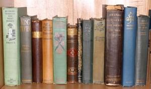 VINTAGE BOOKS TWELVE VOLUMES