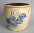 Two gallon stoneware crock 19th c