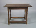 New England pine tavern table 18th c