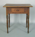 Southern Sheraton walnut work table ca 1830