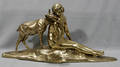 082011 ALEXANDER MORLON BRONZE SCULPTURE WOMAN  DOE