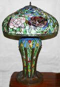082021 ART GLASS LAMP