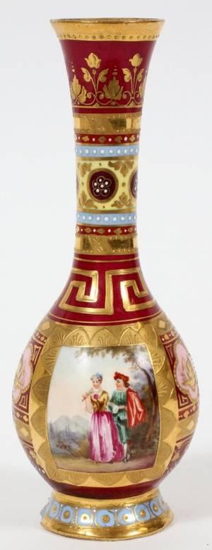 royal vienna porcelain vase