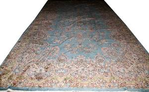 KERMAN PERSIAN WOOL CARPET 10 8 X 20