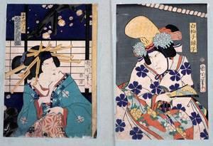 KUNICHIKA JAPANESE UKIYOE WOODBLOCK PRINTS