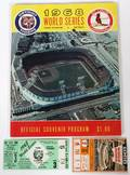 1968 DETROIT TIGERS AND ST LOUIS CARDINALS 3