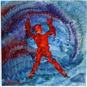 REGINALD POLLACK OIL 2000 BIG RED POGLIN