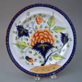 Gaudy Dutch dinner plate
