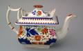 Gaudy Dutch teapot