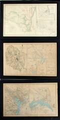 JULES BIEN LITHO CO PRINTS OF CIVIL WAR MAPS