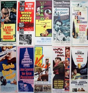VINTAGE MOVIE POSTER COLLECTION C 19501965